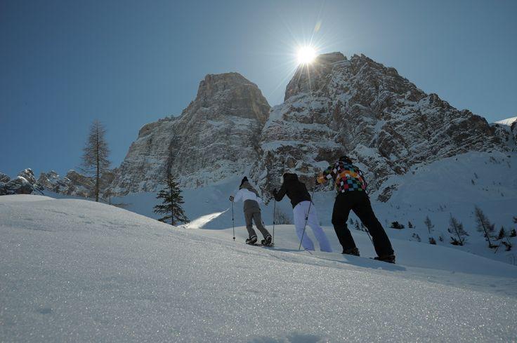 Snow Shoes / Racchette da Neve #Alleghe #dolomitistars