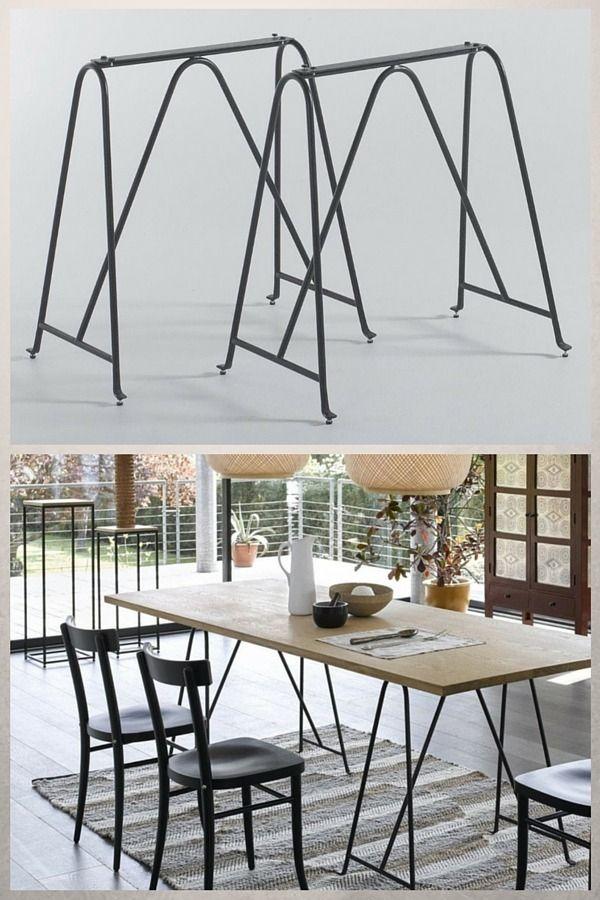 Tréteaux Design : 21 Idées Pour La Table Ou Le Bureau