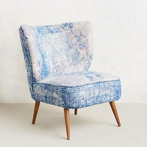 Anthropologie Dhurrie Occasional Chair  #anthroregistry