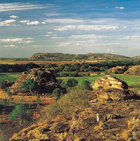 view from Ubirr Rock, Kakadu NP. NT. Aus