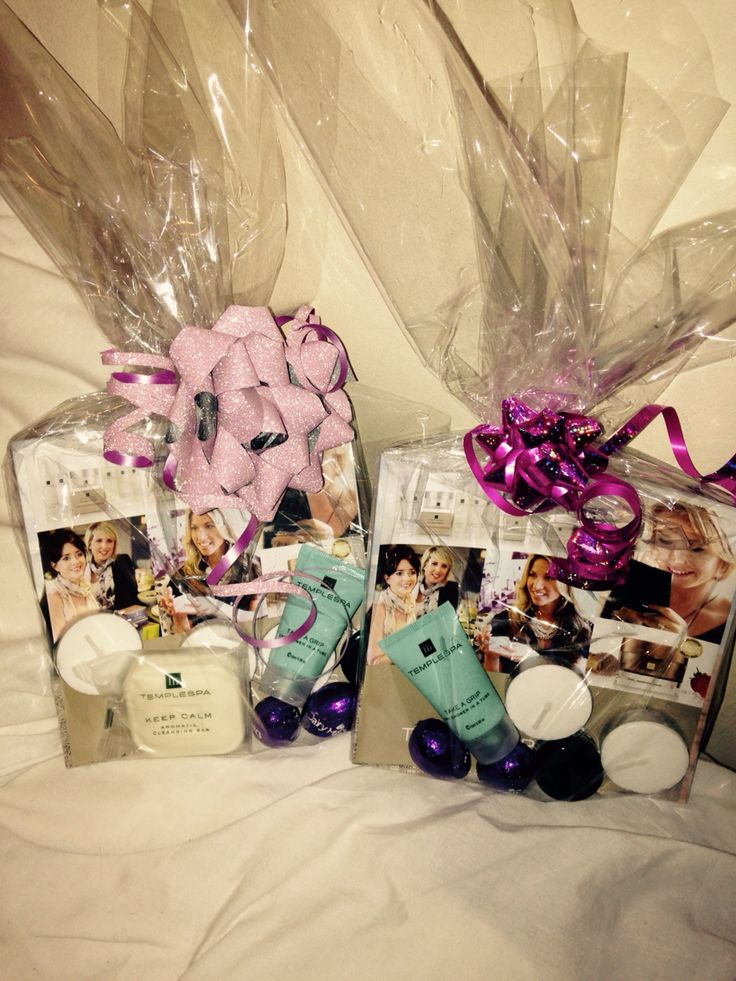More Temple Spa booking gifts