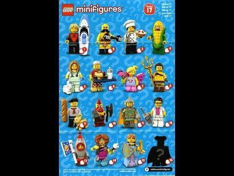 Lego Minifigúrka Séria 17