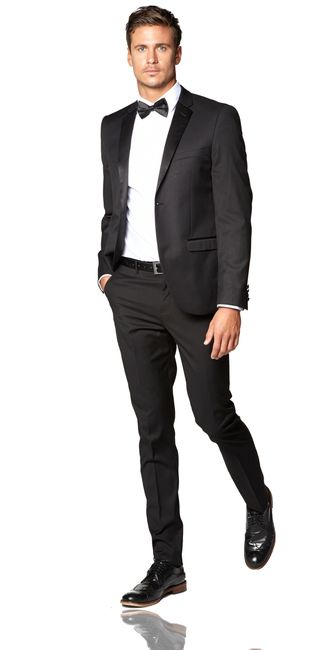 Prom Tuxedos. Get set for the big dance with an unforgettable outfit. Pull out all the stops for an elegant night out and party in style with prom tuxedos that are sure to complement your date's dress.