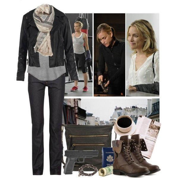 annie walker covert affairs fashion | and none of it seems real to me created by sinetimore one