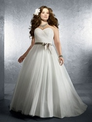 Plus Size Wedding Hairstyles Fashion