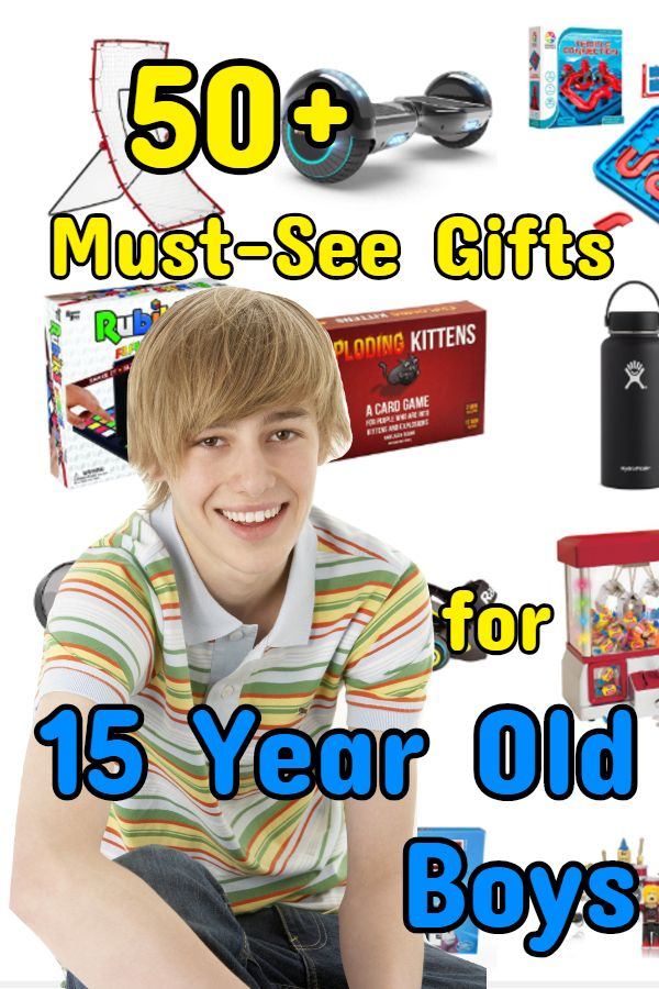 Best Gifts For 15 Year Old Boys 15 Year Old Boy Presents For Boys Books For Boys