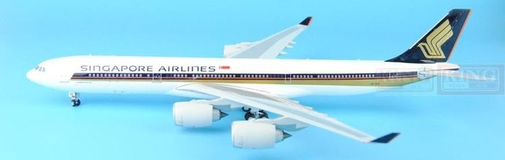 221.47$  Buy now - http://ali11j.worldwells.pw/go.php?t=32597104264 - Eagle 100026 Singapore 9V-SGE Airlines 1:200 A340-500 commercial jetliners plane model hobby