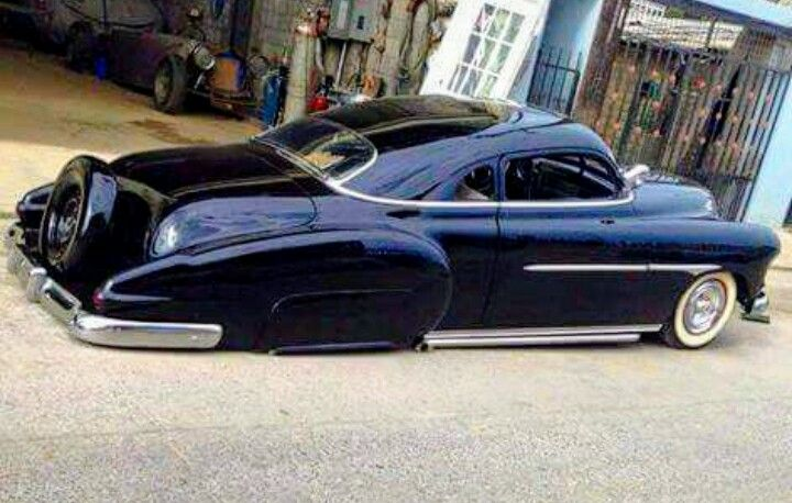 Chopped 50 Chevy Coupe...