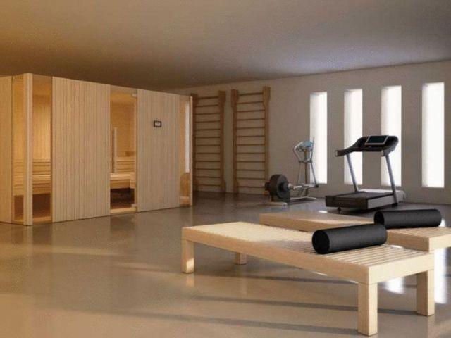 Inspiration - Bastu och gym.