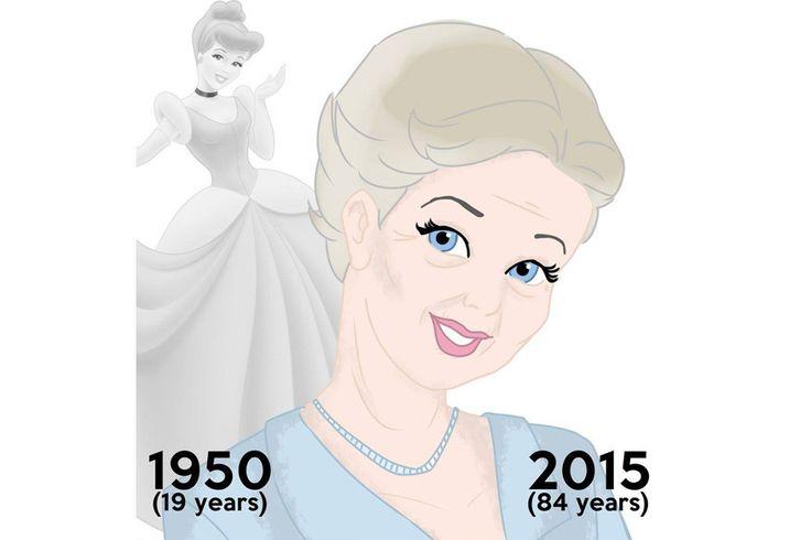 """Der Trickfilm """"Cinderella"""" erschien vor inzwischen 65 Jahren. Die Protagonistin wäre heute entsprechend 84 Jahre alt."""