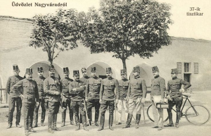 Oradea: 37th Imperial and Royal joint Infantry Corps, 1907