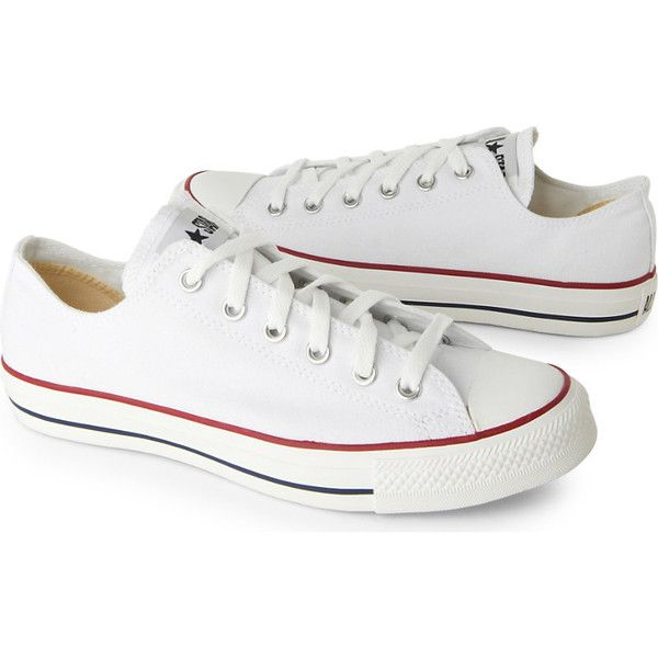 CONVERSE All Star Ox low shoes ($47) ❤ liked on Polyvore featuring shoes, sneakers, laced sneakers, low shoes, converse footwear, low sneakers and lace up sneakers
