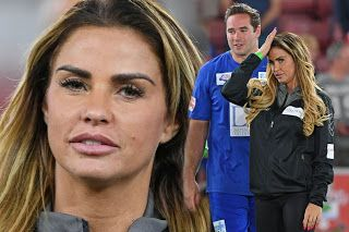 ROSEBEAUTYWORLD GOSSIP NEWS: Katie Price is all smiles at charity football matc...