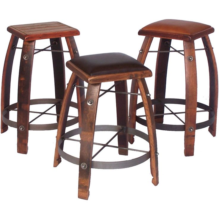 the wine barrel bistro table set features our most popular bar table with 4 matching bar stools the table is handcrafted from an actual wine barrel and