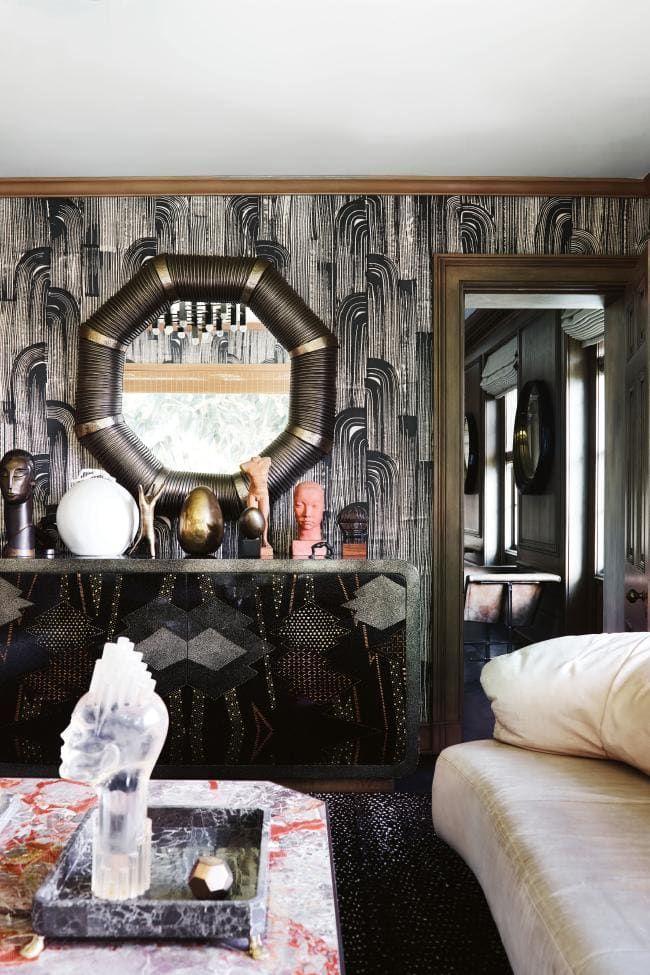 1427 best design crush kelly wearstler images on pinterest kelly wearstler a dragon and bathroom - Cannon bullock wallpaper ...