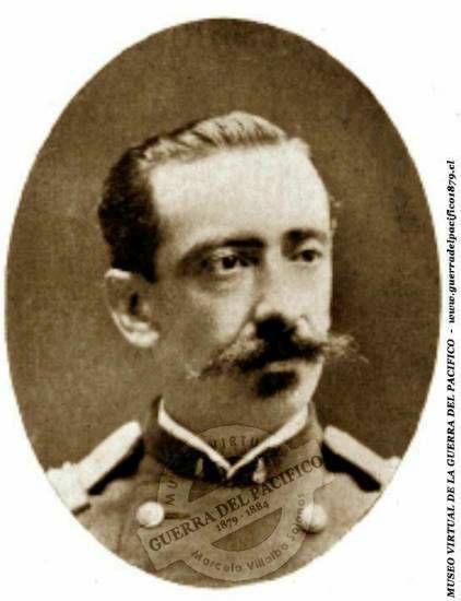 Coronel del 4° de Línea, Luis Solo de Zaldivar, Realizó campañas militares en Arauco hasta 1874. Participó del Combate de Coipué (26 de abril de 1868) y en el asalto de los Llanos de Angol (28 de enero de 1869). Durante la Guerra del Pacífico participó en las campañas contra Perú y Bolivia, combatiendo en el combate de Pisagua (1879), la batalla de Tacna (1880), la toma del morro de Arica y los combatea de Chorrillos y Miraflores (1881).