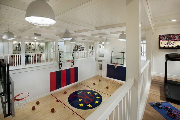 Indoor Basketball Court Brimley Development Scottsdale