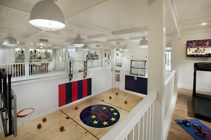 Indoor Basketball Court Brimley Development Scottsdale