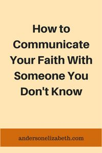 Learn from urban ministry evangelists how to share your faith.