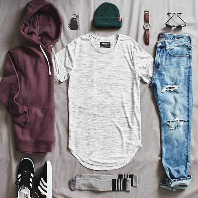 Switch up your wardrobe with our new men's longline tees. #pacsun
