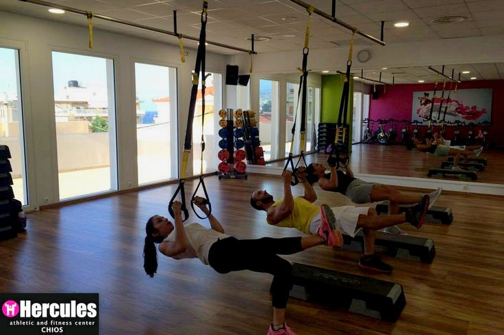"""Make your body your machine""! Το TRX περνάει σε άλλο επίπεδο. Hercules Athletic & Fitness Center 
