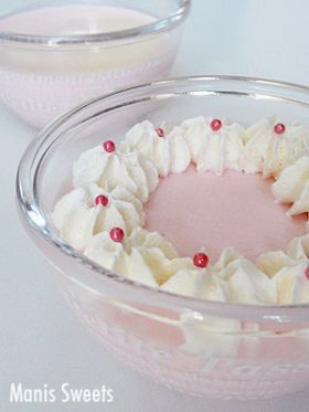 「いちごミルクババロア」*Manis* | お菓子・パンのレシピや作り方【corecle*コレクル】