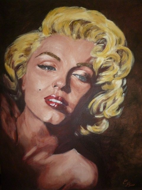 Forever - Painting,  40x50 cm ©2012 da Catia Biso -  Pittura