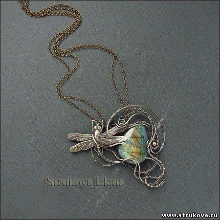Колье и кулоны - Strukova Elena - авторские украшения