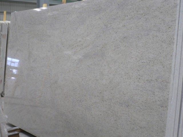 Kashmir White Granite. This Granite is beautiful and with the black and grey spots. These spots called as Garnets.
