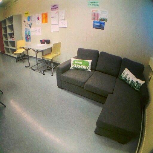 Uusi sohva Nurkkiksessa