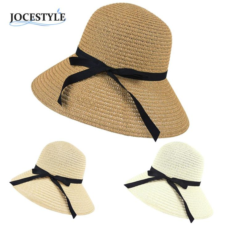 >> Click to Buy << Sun Hat Women Wide Brim Summer Beach Sun Hat Straw floppy Elegant Bohemia cap Straw Hats For Women Fashion Foldable Straw Hats #Affiliate