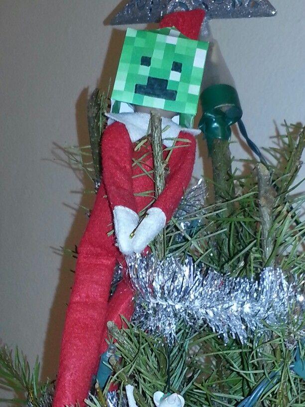 Minecraft Creeper Elf Free Papercraft Printables Online