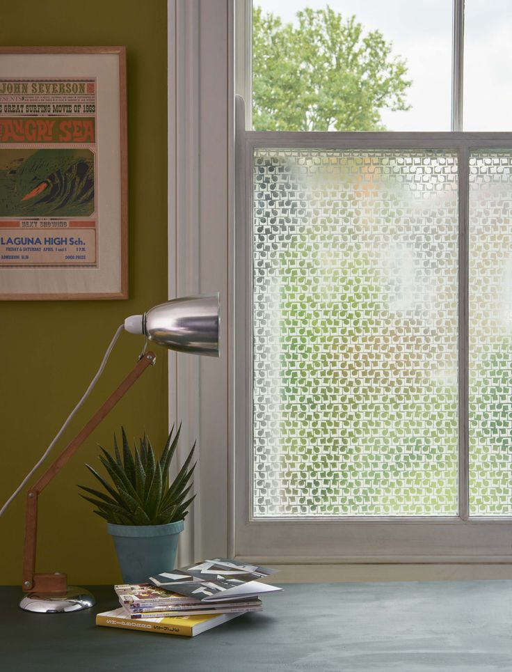 Rhythm decorative film window film from brume ltd