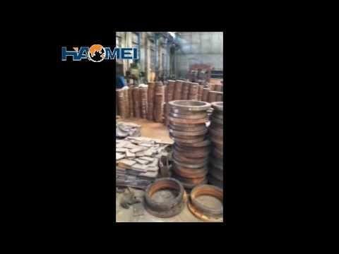 Haomei concrete mixers workshop video