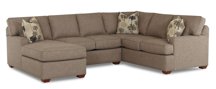 Pantego 3 Piece Sectional Sofa With Laf Chaise