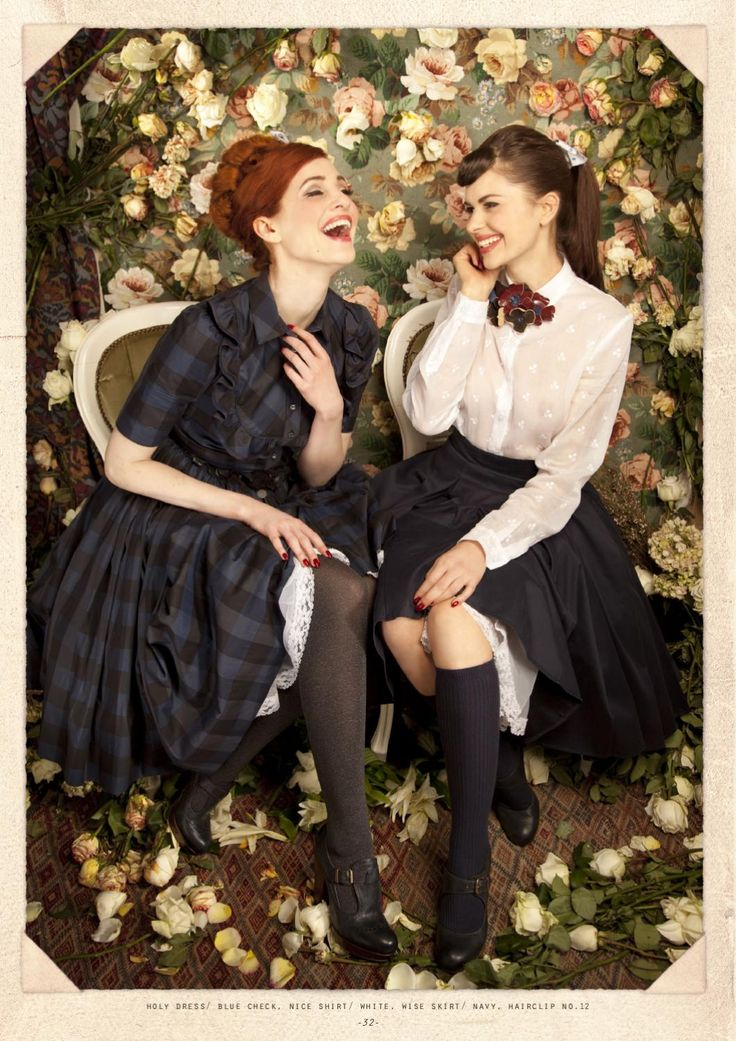 The new collection available from september 2011 in every Lena Hoschek Store and Online www.lenahoschek.com