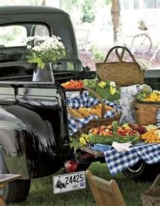 Country tailgate buffet!