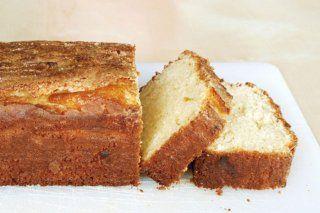 Foto de la receta de torta húmeda de vainilla