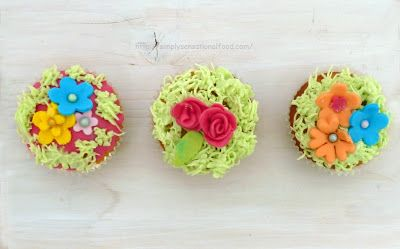 simply.food: Garden Cup cakes