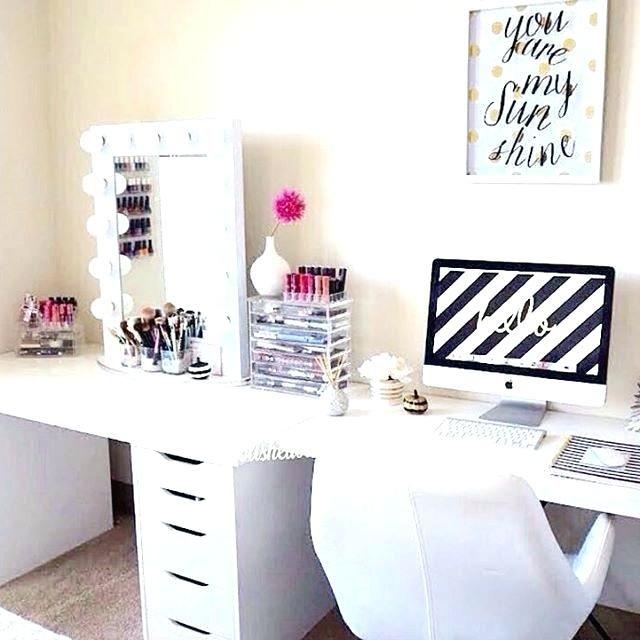 Desk Vanity Combo