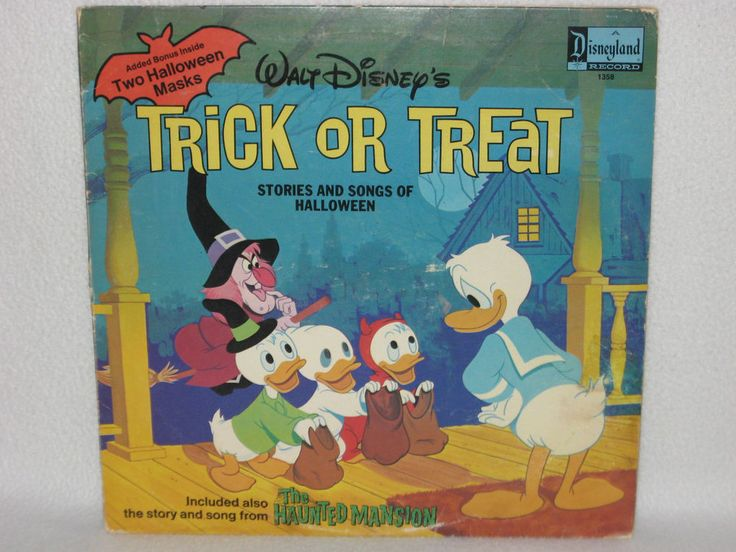 TRICK OR TREAT and HAUNTED MANSION Story & Song Disney