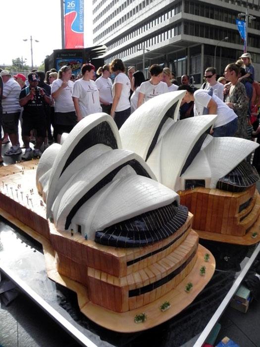 Planet Cake - Massive Sydney Opera House cake