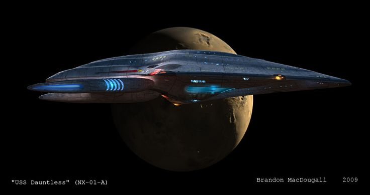 dauntless uss trek star voyager nx eaglemoss ship ships flight diecast em magazine series