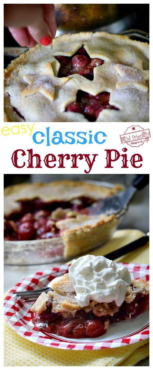 Mamas klassisches Rezept für frischen Kirschkuchen – Kirsche – #Cherry #Classic #fresh #Kirsc …