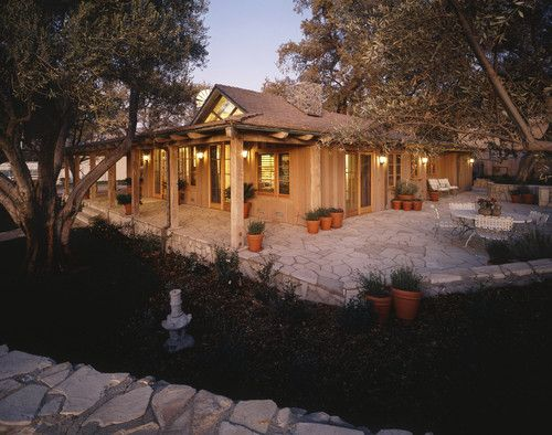 ranch style home with porch addition: Patio Design, Ideas, Rustic Houses, Covers Patio, Traditional Exterior, Porches Addition, Photo, Wraps Around Porches, Ranch Style Home