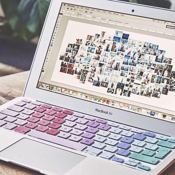 tastaturschutz in pastellfarben