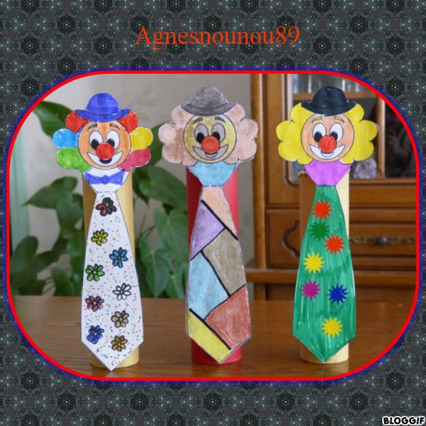 Clown cravate
