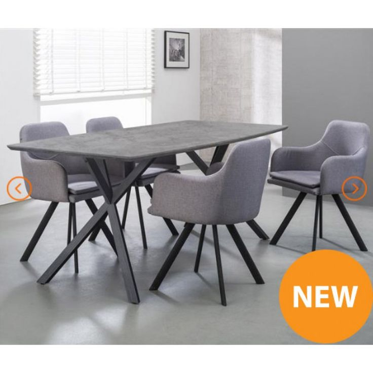 best 25 concrete dining table ideas on pinterest. Black Bedroom Furniture Sets. Home Design Ideas