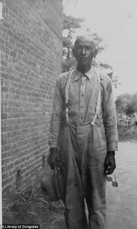 James Singleton Black, ex-slave, 83-years-old, taken in the late 1930s, as part of the Federal Writers' Project (FWP), 70 years after abolition.