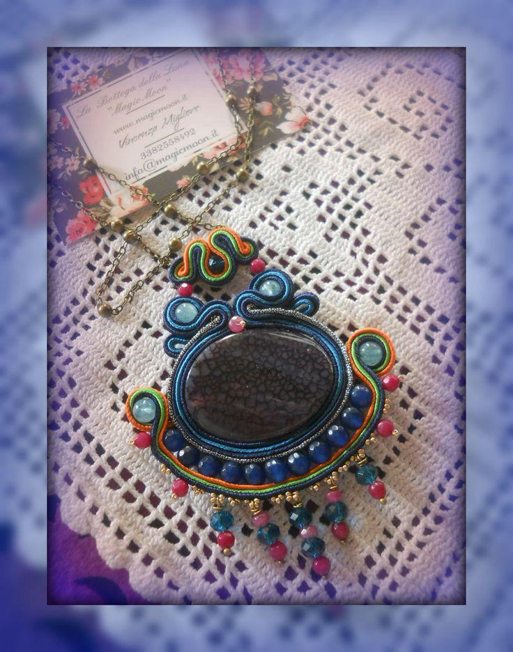 necklace soutache https://www.facebook.com/MagicaMoon